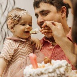 Первый торт Алёнки